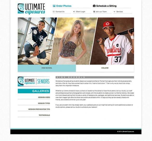 Ultimate Exposures Website