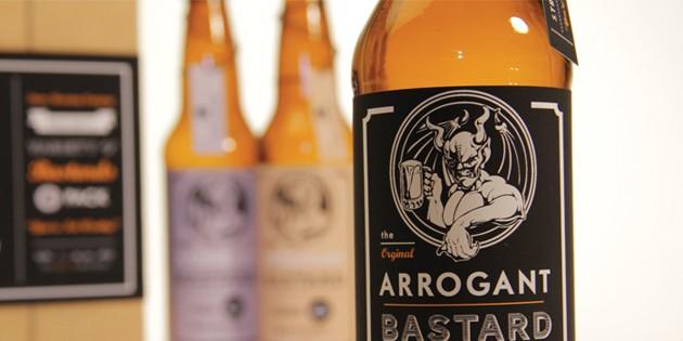 Arrogant Bastard Beer