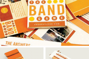 The Band Game Paper Promo