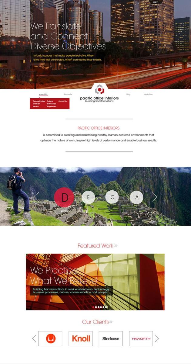 POI Website Interface